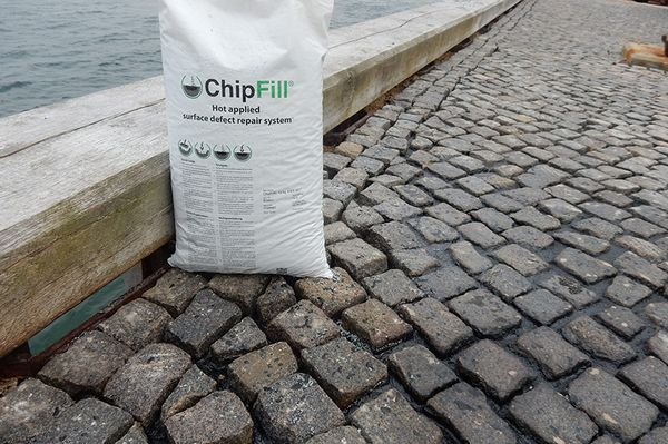 Fixate cobblestones with ChipFill™