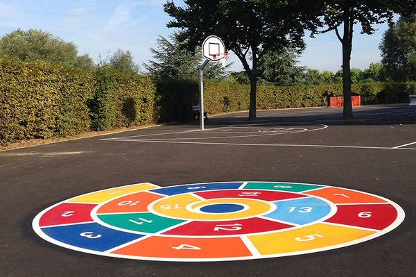DecoMark® applied in school playground