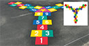 game suggesitons for three-legged hopscotch