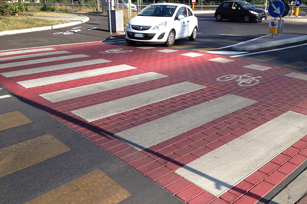 the pedestrian crossing 2 months after application