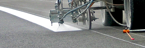 AquaRoute - water based road marking paint