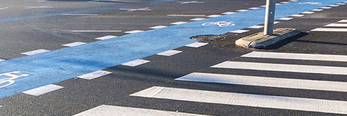 Cold plastic road marking material